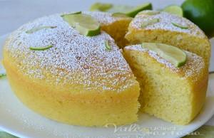 Torta ricotta e lime ricetta senza burro e olio