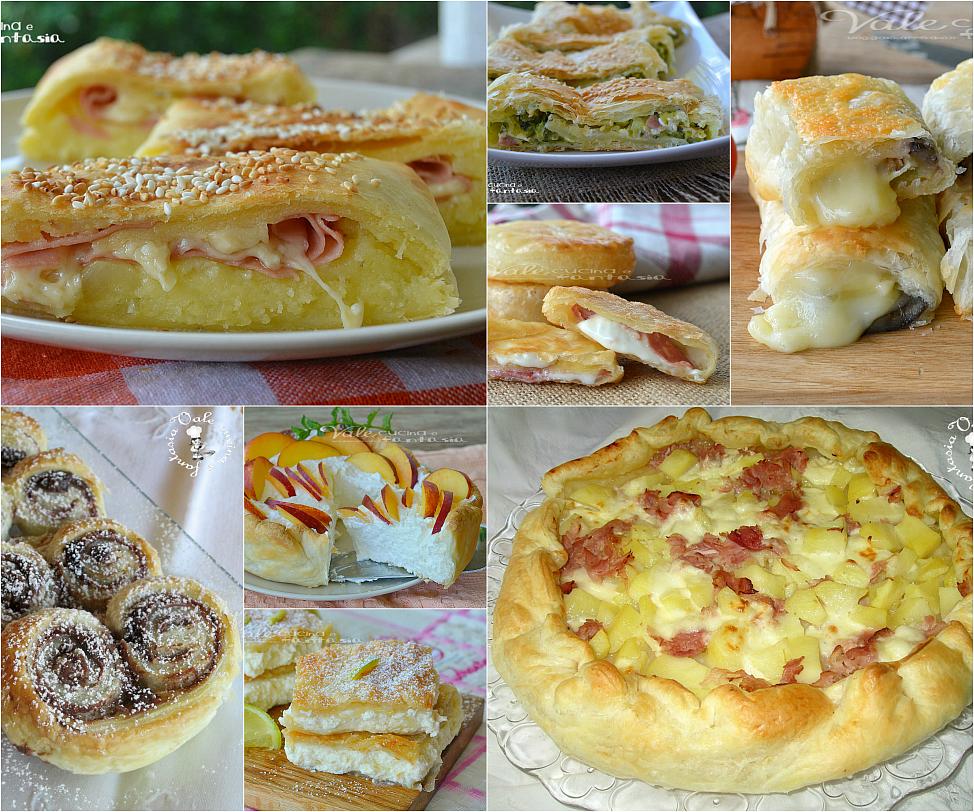 Raccolta di ricette con la pasta sfoglia dolci e salate for Pasta ricette
