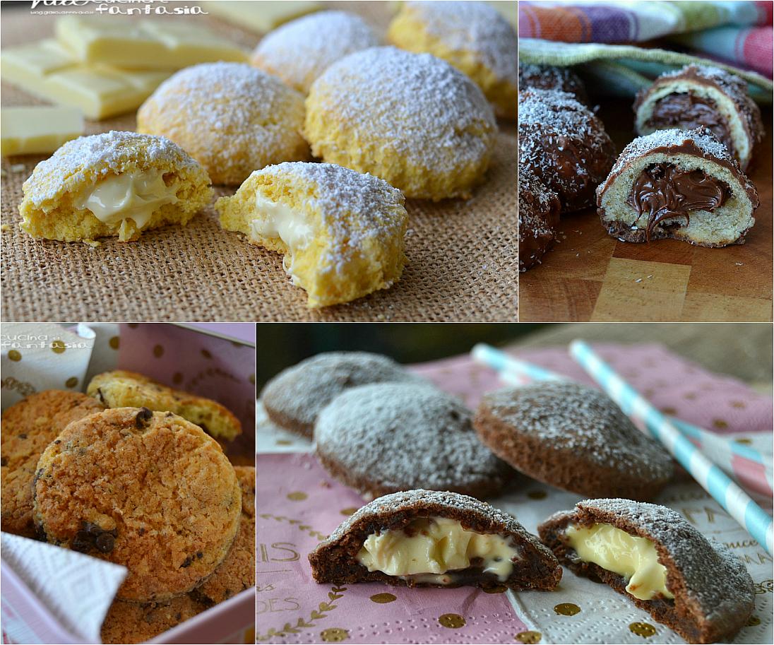 Raccolta di ricette di biscotti per colazione e merenda