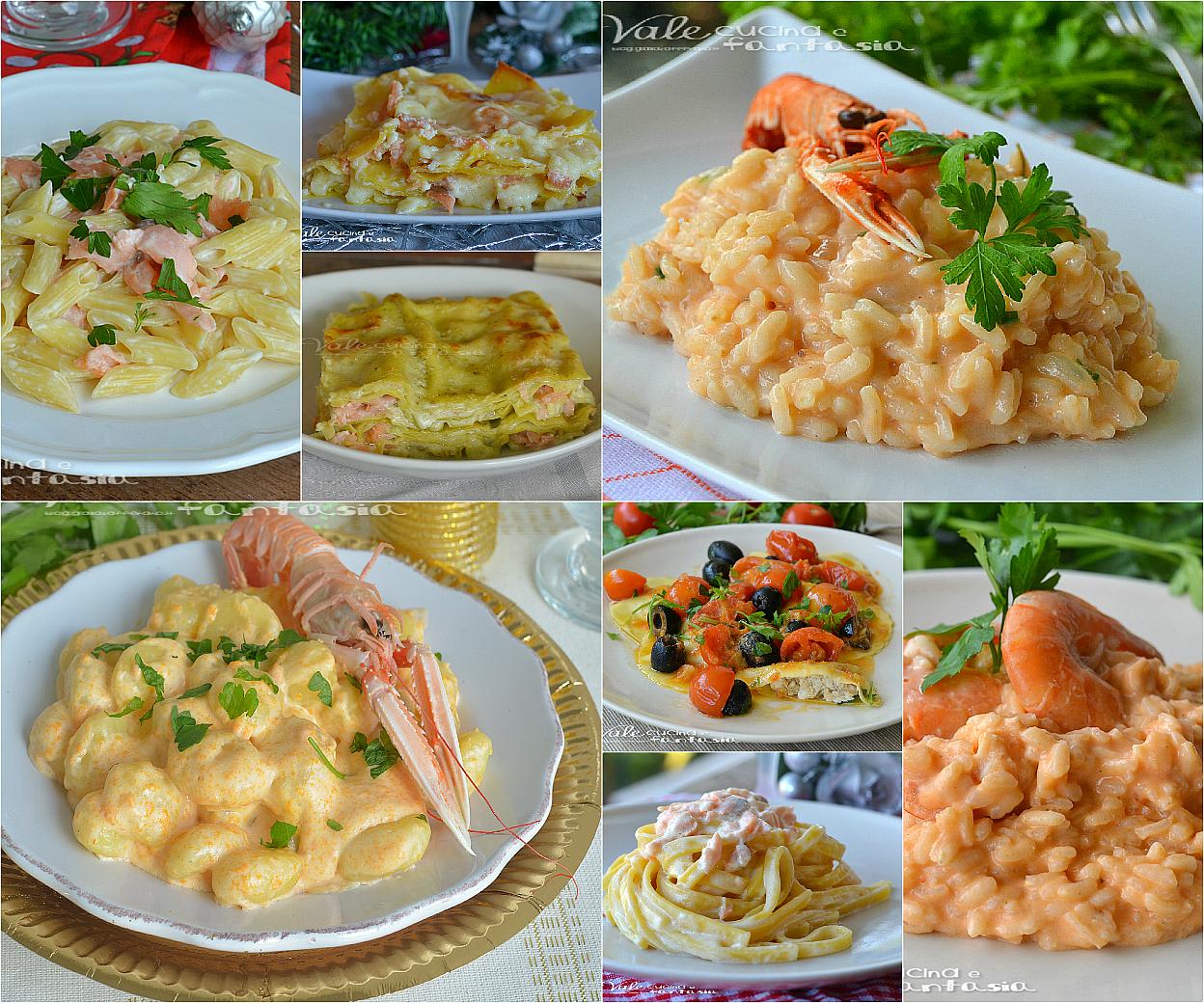 Primi piatti per la vigilia di natale facili e veloci for Ricette primi piatti veloci bimby
