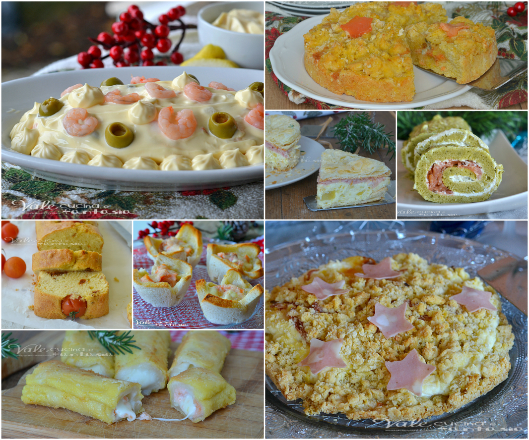 Antipasti per le feste di natale facili e veloci for Ricette originali