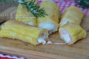 Rotolini veloci con salmone e mozzarella