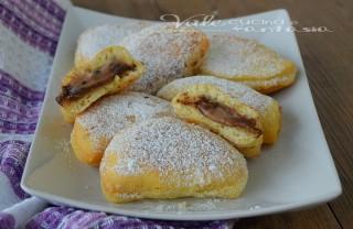 Panzerotti dolci con ricotta e nutella ricetta veloce