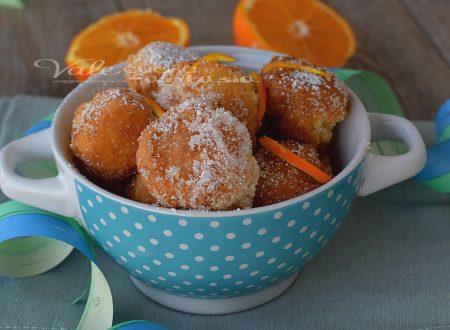 Castagnole con mascarpone e arancia