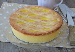 Crostata morbida alla crema pasticcera ricetta dolce