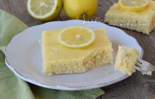 Lemon cake allo yogurt ricetta facile e veloce
