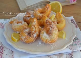 Zeppole al limone e mascarpone