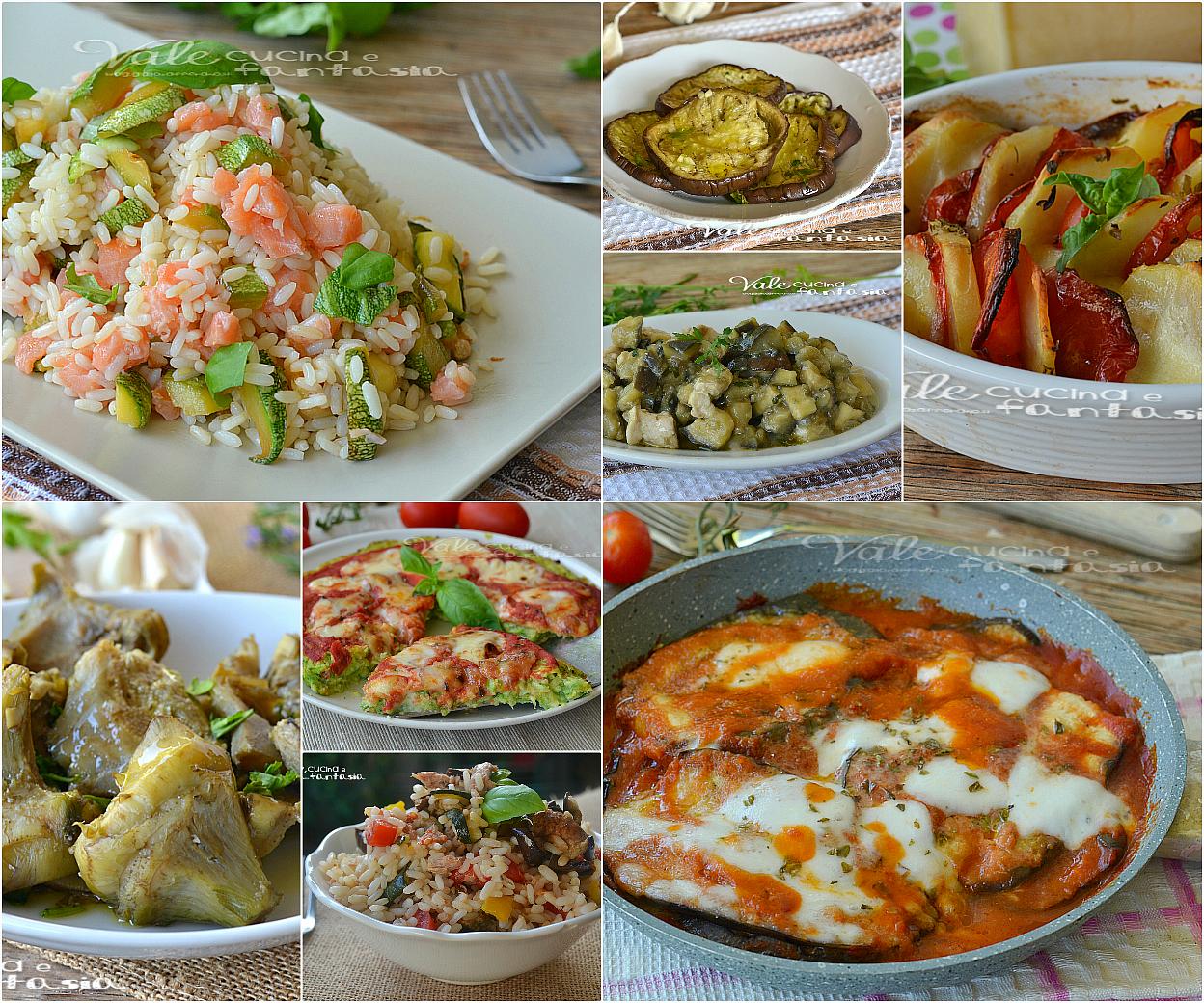 ricette leggere con verdure facili e veloce