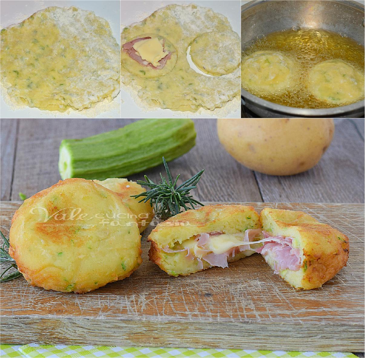 Bombe di patate e zucchine ricetta veloce