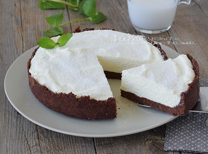 Torta fredda al cocco