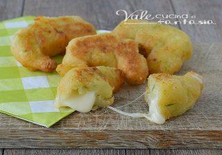 Cornetti di patate e zucchine