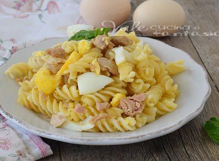 Pasta tonno e uova sode