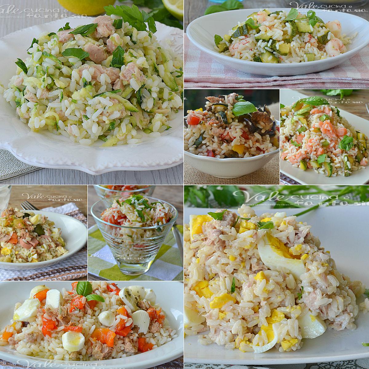 Insalate di riso ricette facili e veloci for Ricette insalate