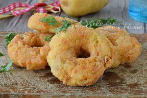 Ciambelline veloci patate e tonno
