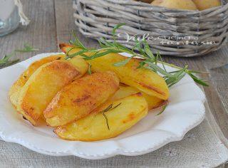 Patate al forno ricetta facile per renderle croccanti