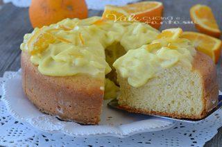Torta con crema alle aranceTorta con crema alle arance