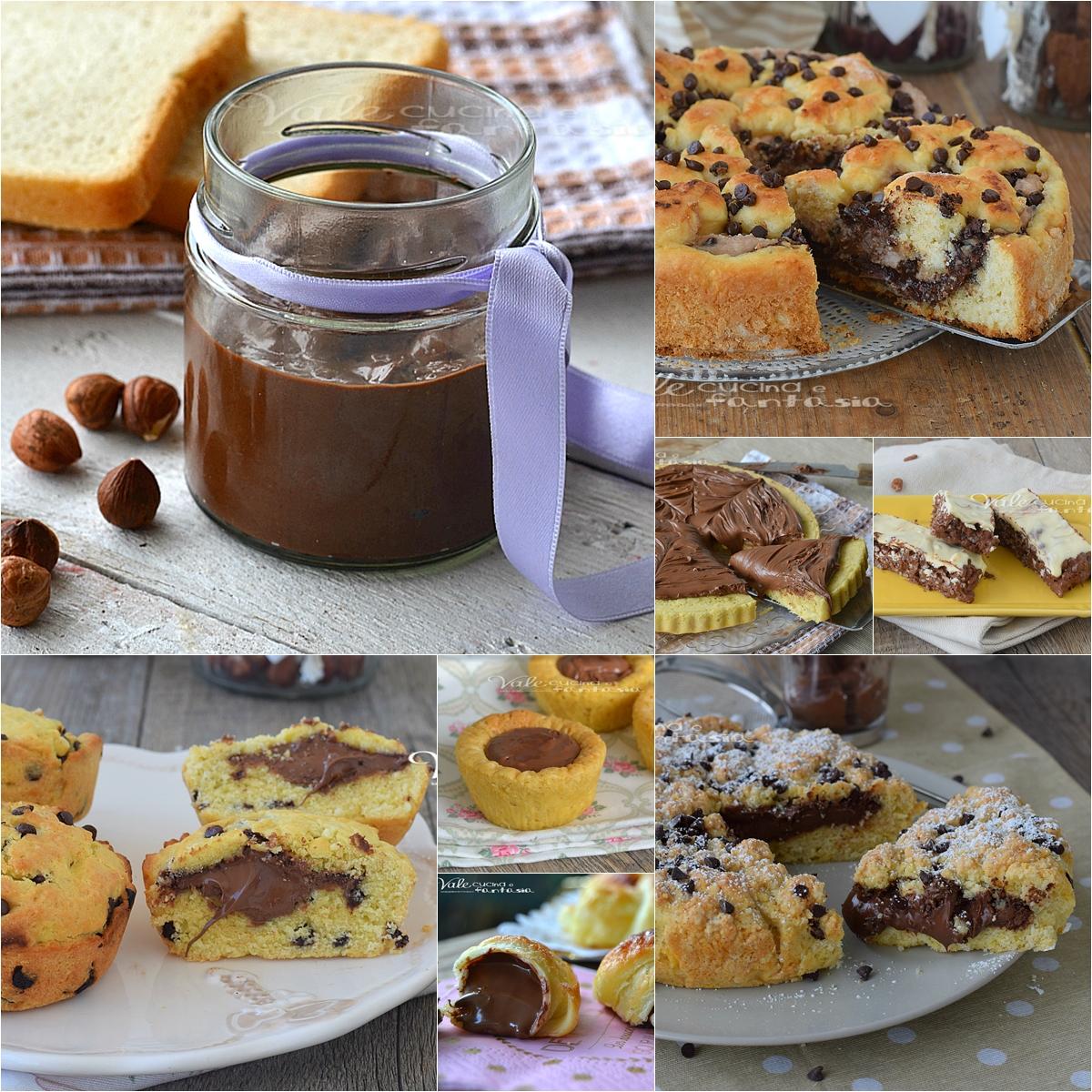 Dolci alla nutella ricette facili veloci economiche for Ricette facili dolci