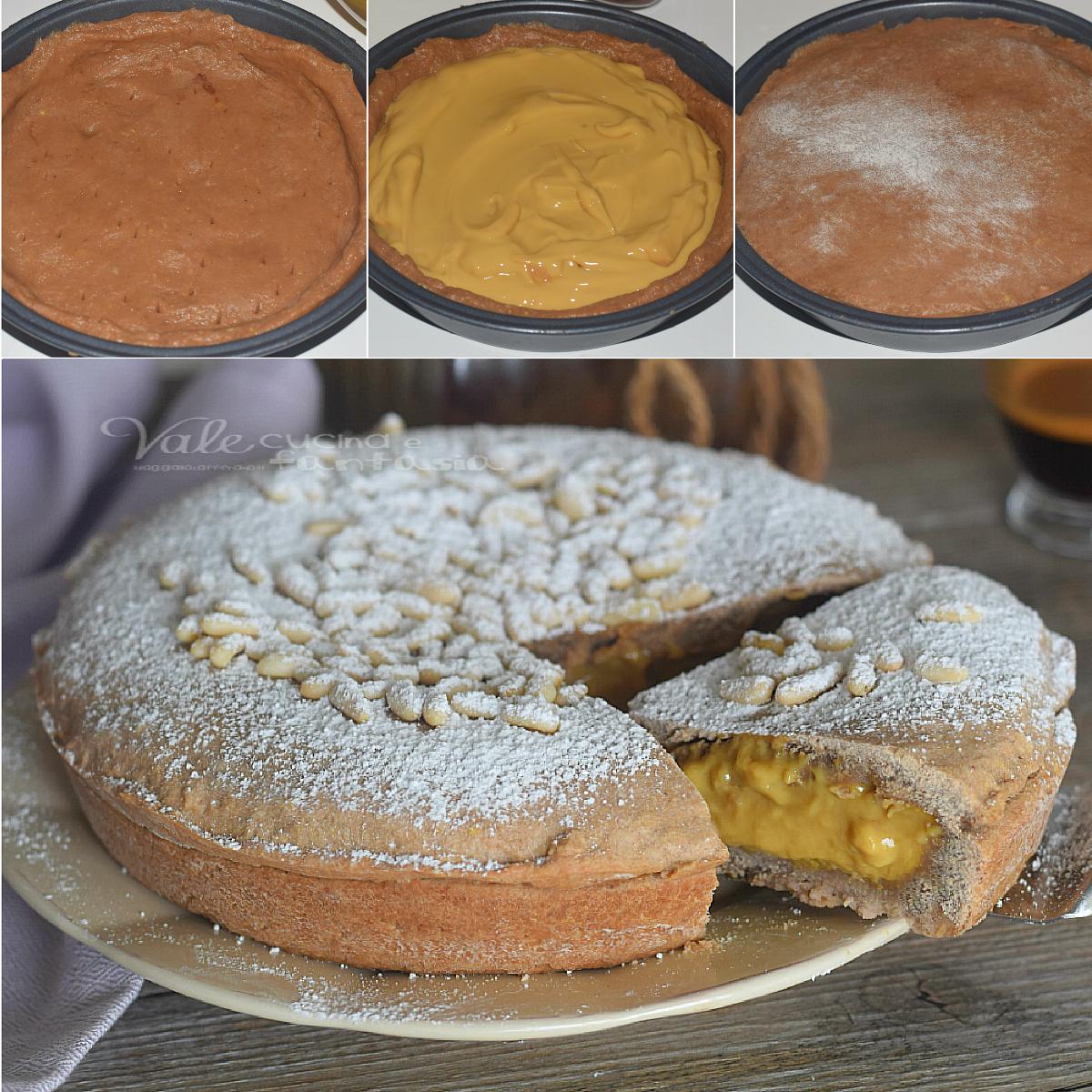 Torta Della Nonna Al Caffe Ricetta Dolce Facile