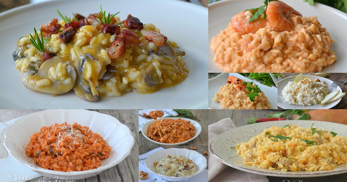 Risotti le migliori 10 ricette facili e velocissime for Ricette risotti veloci