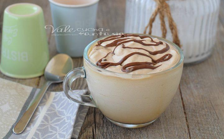 CREMA FREDDA DI CAFFE AL GINSENG E NUTELLA
