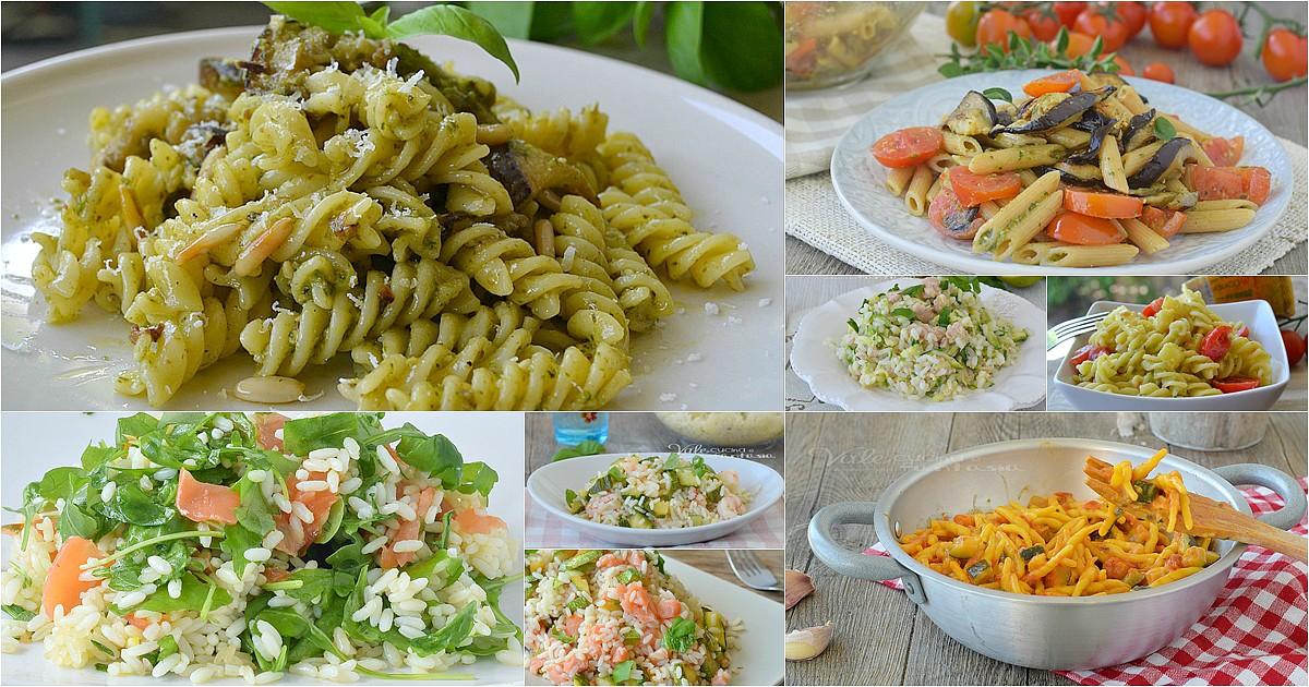 Primi piatti con le verdure ricette estive facili e veloci for Ricette cucina estive