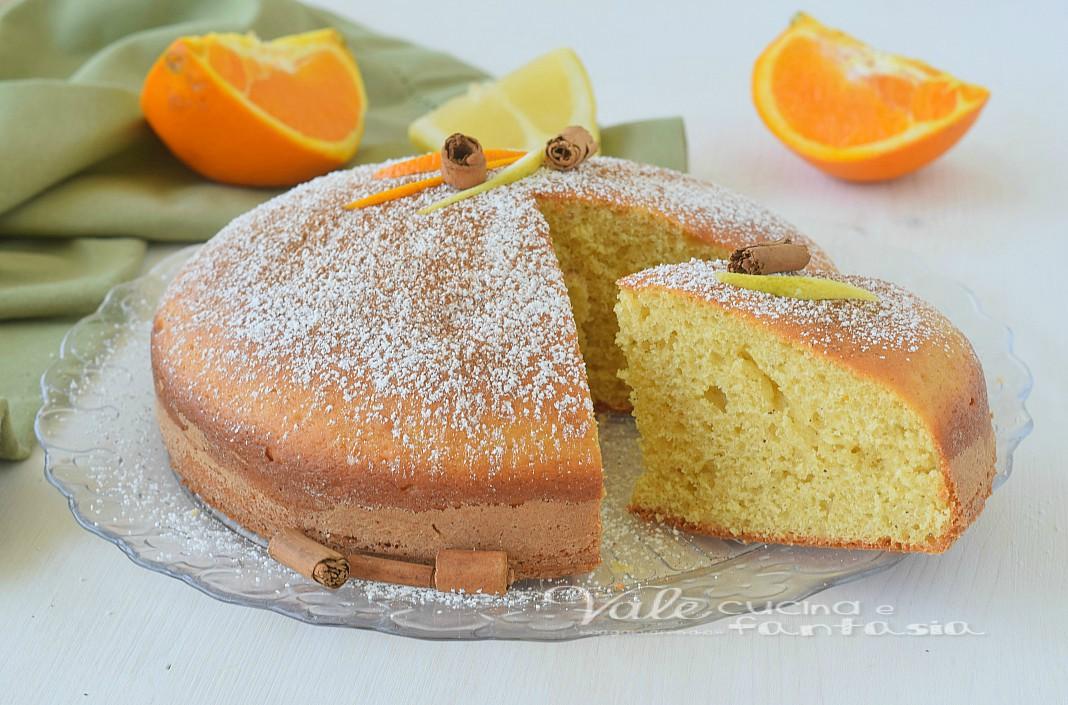 torta alla cannella e agrumi