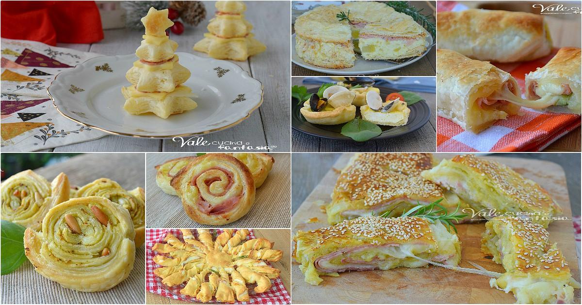 Antipasti con la pasta sfoglia per natale ricette facili for Ricette con la pasta