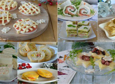 ANTIPASTI DI NATALE 10 ricette con le tartine