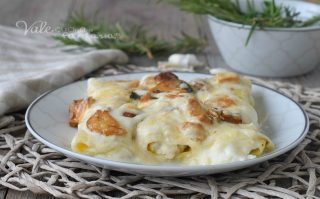 CANNELLONI AI FUNGHI PORCINI ricetta pasta ripiena