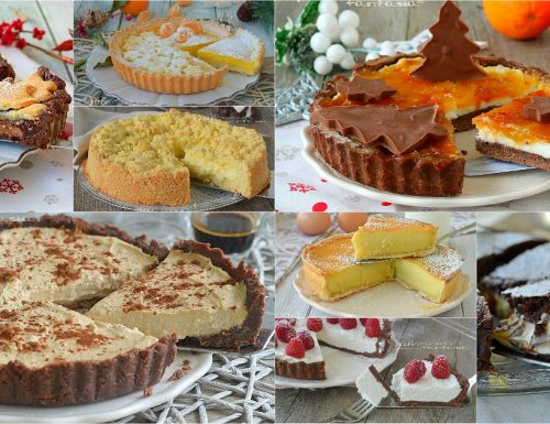 CROSTATE PER NATALE ricette dolci facili