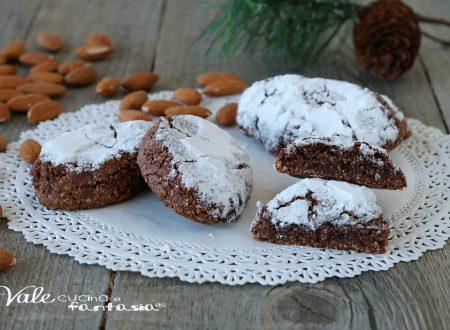 RICCIARELLI AL CACAO biscotti alle mandorle