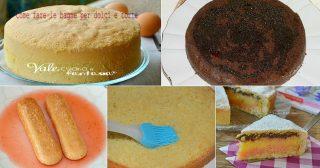 COME FARE LE BAGNE PER DOLCI e torte e come abbinarle