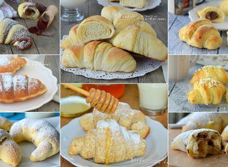 CORNETTI FATTI IN CASA 15 ricette golose