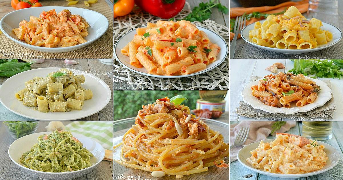 Primi piatti cremosi e veloci 10 ricette facili for Primi piatti facili