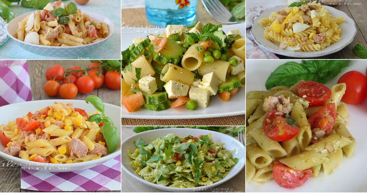 Pasta fredda 10 ricette di primi piatti veloci e gustosi for Ricette primi veloci