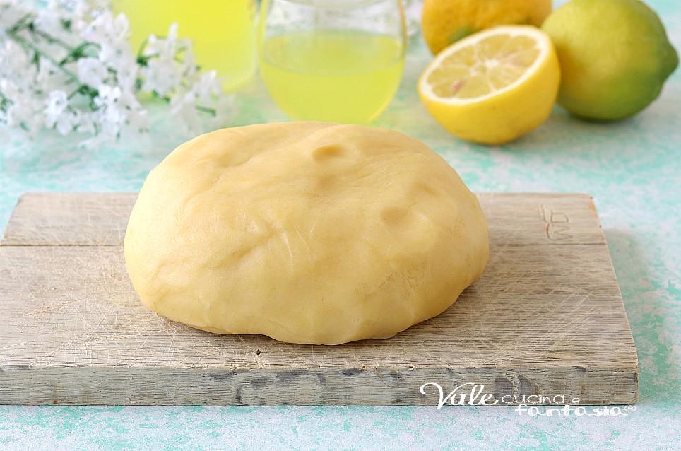 PASTA FROLLA AL LIMONCELLO per biscotti e crostate