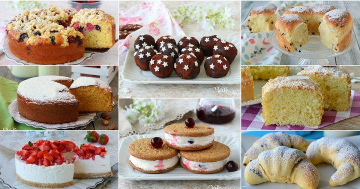 DOLCI CON LO YOGURT ricette di torte, lievitati e dolci al cucchiaio