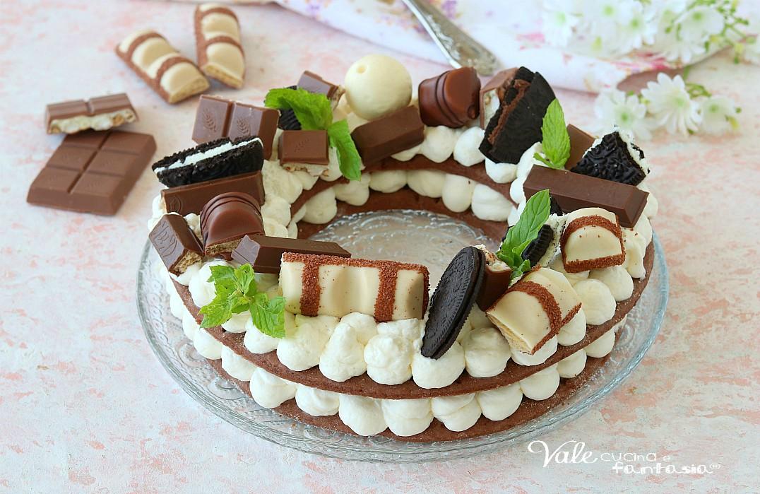CREAM TARTcon pasta frolla perfetta al cacao
