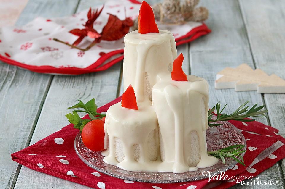 Dolci Candele Di Natale.Candele Di Natale Salate