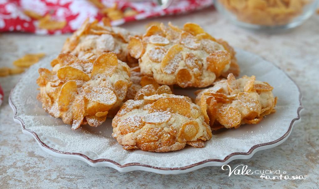 Ricetta Dolci Rose Del Deserto.Rose Del Deserto Biscotti Con Mandorle E Cornflakes