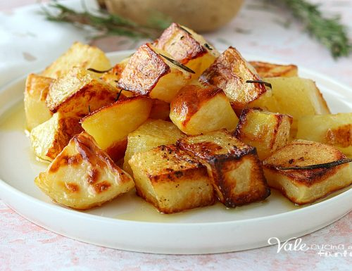 PATATE AL FORNO DORATE