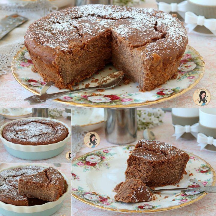 TORTA RICOTTA E CIOCCOLATO o ricotta cotta al cioccolato senza farina