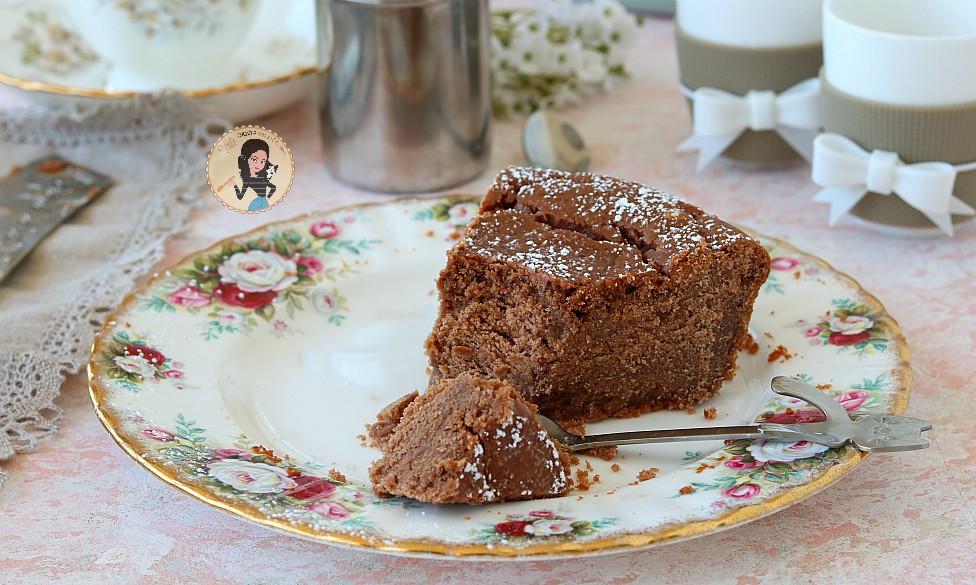 TORTA RICOTTA E CIOCCOLATO o ricotta cotta al cioccolato