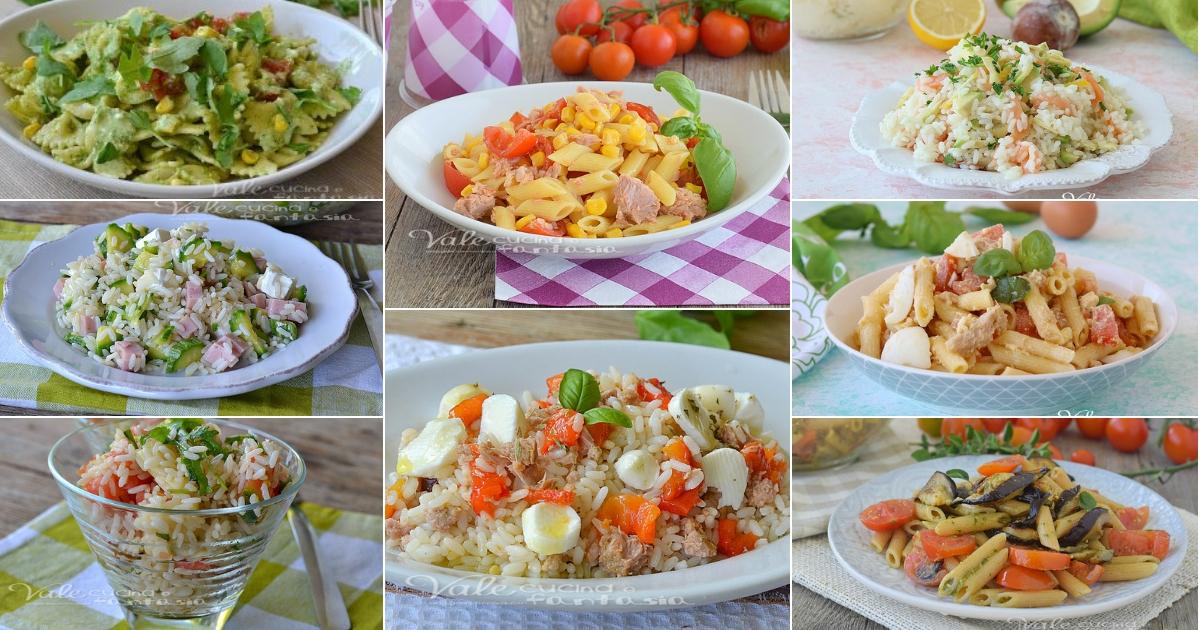 Primi piatti freddi estivi ricette facili con verdure for Ricette piatti freddi
