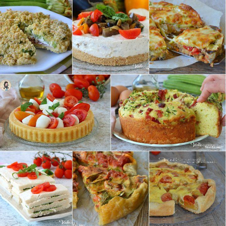 Torte salate ricette estive per antipasto aperitivo o buffet for Ricette cucina estive