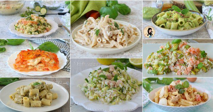 PRIMI PIATTI VELOCI ESTIVI 8 RICETTE di pasta, riso e lasagne