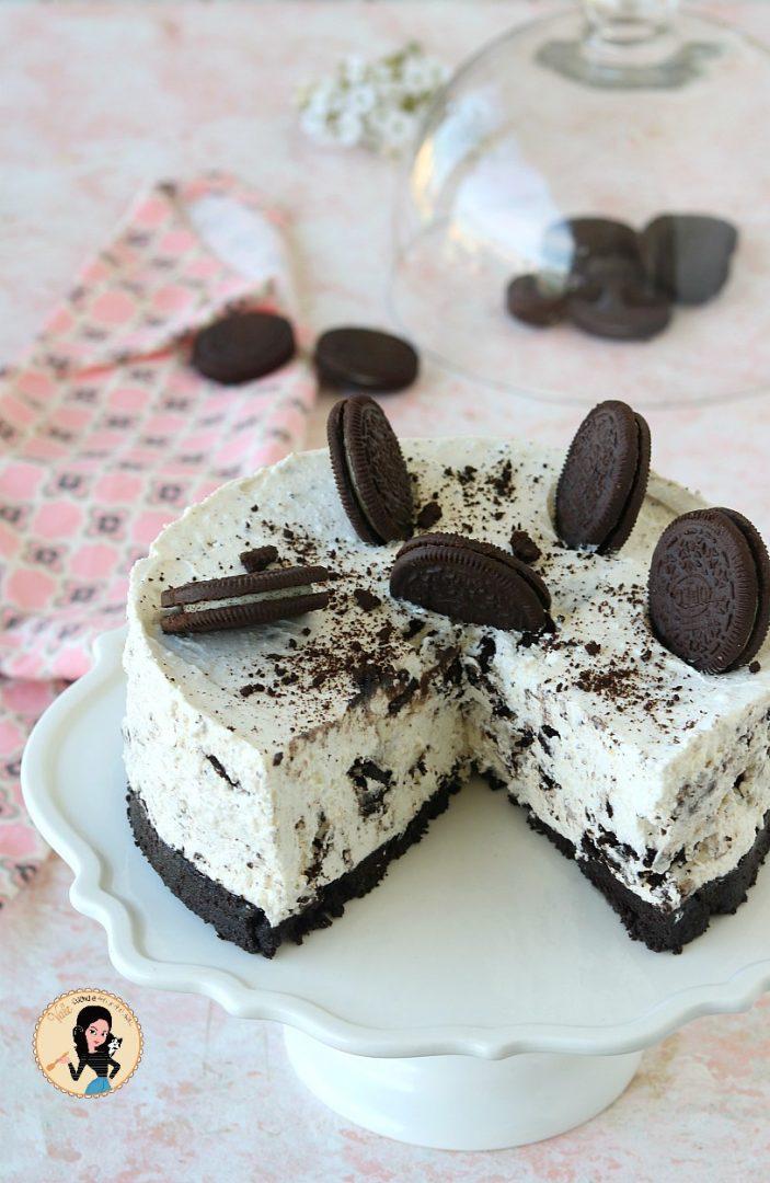 Ricetta Cheesecake Oreo Giallo Zafferano.Torta Oreo Fredda O Cheesecake Oreo Senza Cottura
