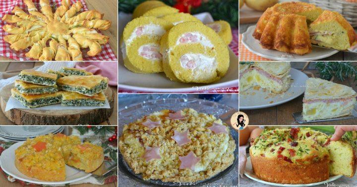 TORTE SALATE DI NATALE 8 ricette sfiziose
