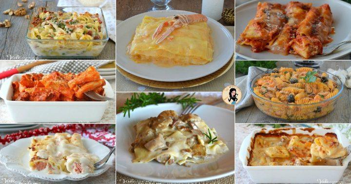 PRIMI PIATTI PER NATALE 8 ricette di pasta al forno