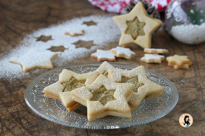 BISCOTTI DI NATALE AL PISTACCHIO dolce di Natale facile ed originale